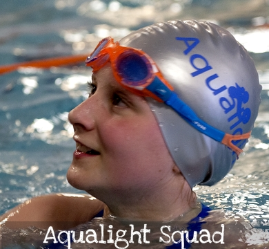 Aqualight Squad Swimming Classes - Autumn 2018